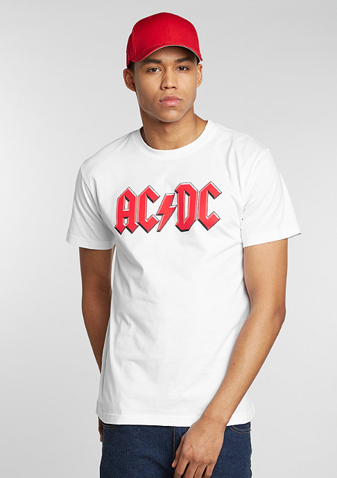 Artist by Mister Tee T-Shirt ACDC white