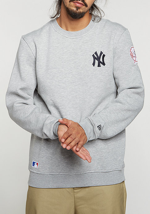New Era MLB New York Yankees light grey heather