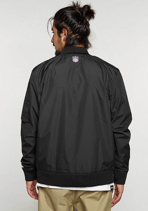 New Era Übergangsjacke Bomber NFL Oakland Raiders black