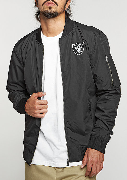 New Era Bomber Jacket NFL Oakland Raiders black
