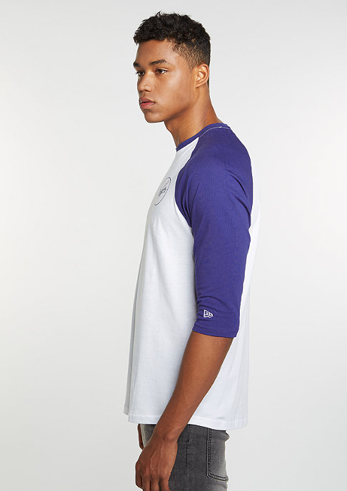 New Era Raglan MLB Los Angeles Dodgers optic white