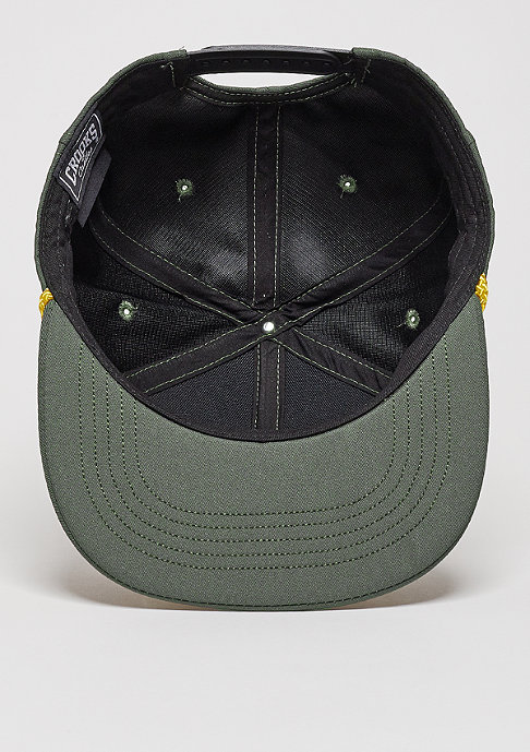 Crooks & Castles Snapback-Cap Wavy Armada rifle green