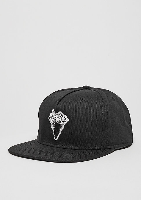 Crooks & Castles Snapback-Cap Medusa Patch black