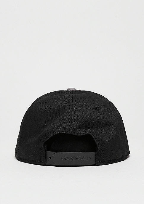 Crooks & Castles Fragment Core Logo black/gravel