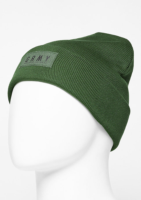Grimey Beanie Bowels Of The D green