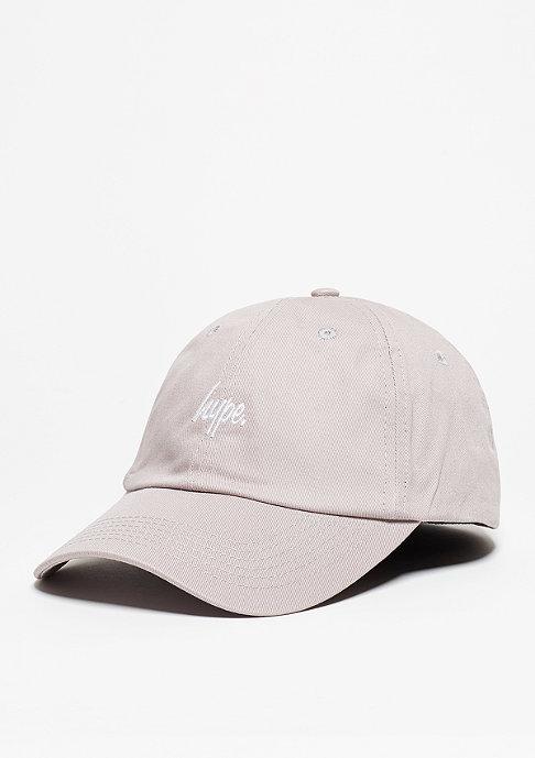Hype Baseball-Cap Script grey