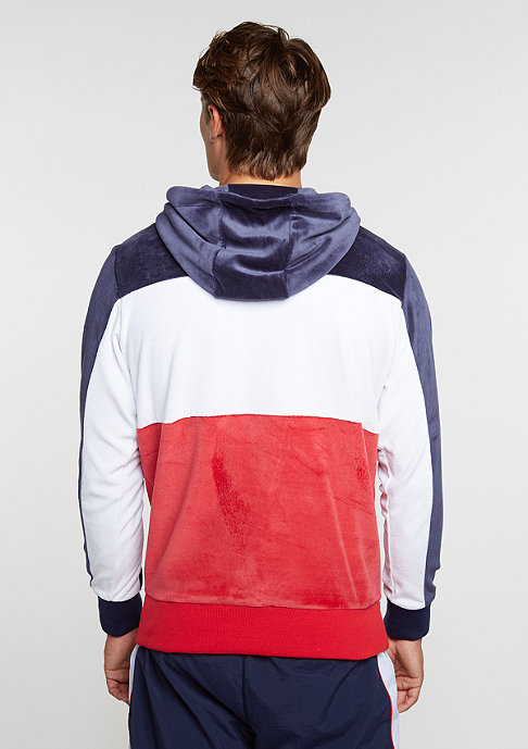 Fila Hooded sweatshirt Baggio blue/red
