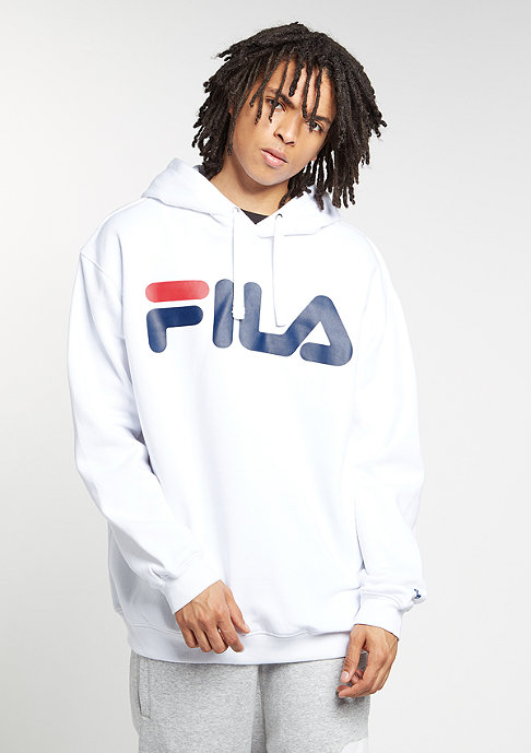 Fila Hooded-Sweatshirt Crash bright white