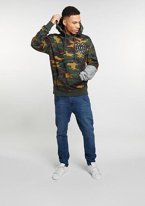 Grimey Hooded-Sweatshirt Smokey Alley camo
