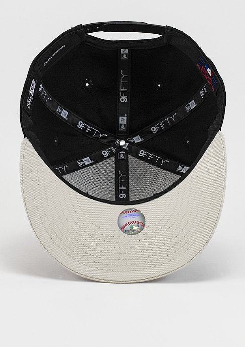 New Era Snapback-Cap Contrast Seasonal Snap MLB New York Yankees black/stone