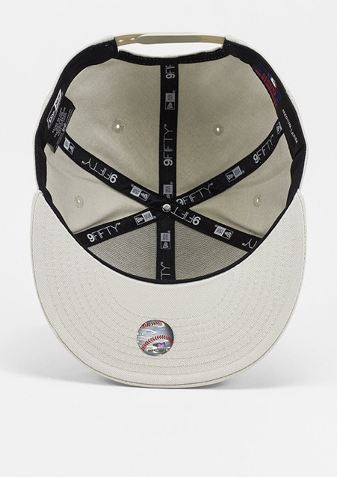 New Era Snapback-Cap League Essential 9Fifty MLB New York Yankees stone/white