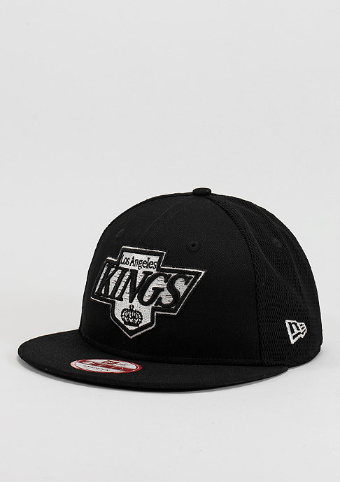 New Era Snapback-Cap Mesh NHL Los Angeles Kings black/optic white