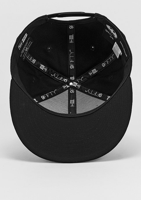 New Era Mesh Batman black/optic white