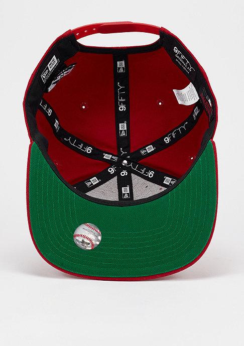 New Era Vintage Wash MLB New York Yankees scarlet/optic white