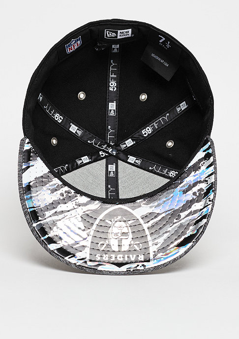 New Era Draft On Stage 59Fifty NFL Oakland Raiders official