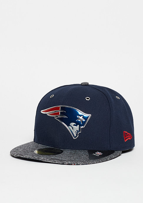 New Era Fitted-Cap Draft On Stage 59Fifty NFL New Enland Patriots official