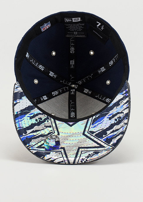 New Era Fitted-Cap Draft On Stage 59Fifty NFL Dallas Cowboys official