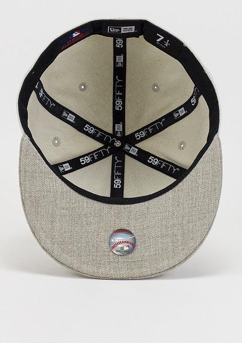 New Era Flawless Metal MLB New York Yankees stone/heather oatmeal