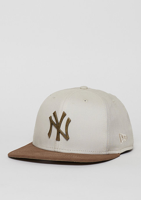 New Era Classic Rust MLB New York Yankees off white/brown
