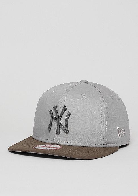 New Era Snapback-Cap Classic Rust MLB New York Yankees grey/graphite