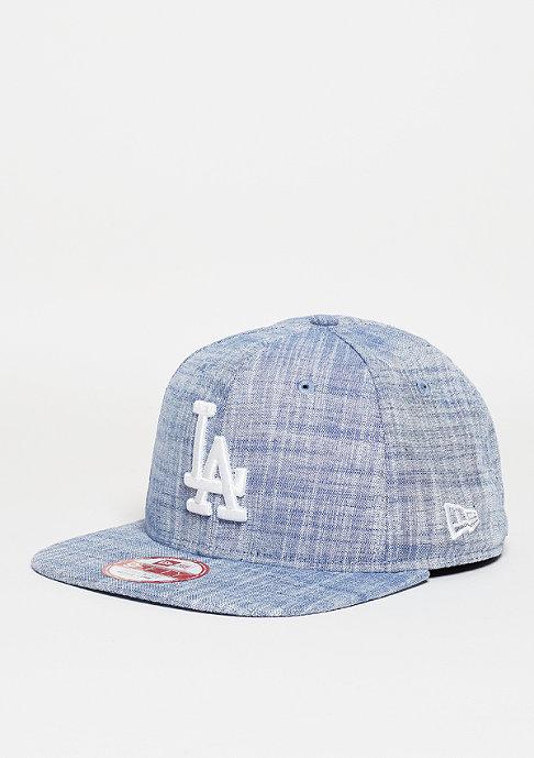 New Era Snapback-Cap Chambray MLB Los Angeles Dodgers light royal