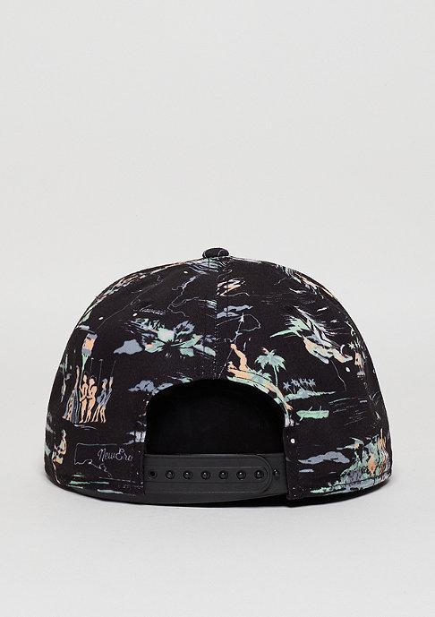 New Era Offshore Crown Patch black/black