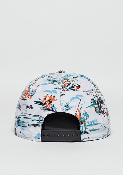 New Era Snapback-Cap 9Fifty Offshore Crown Patch white/black
