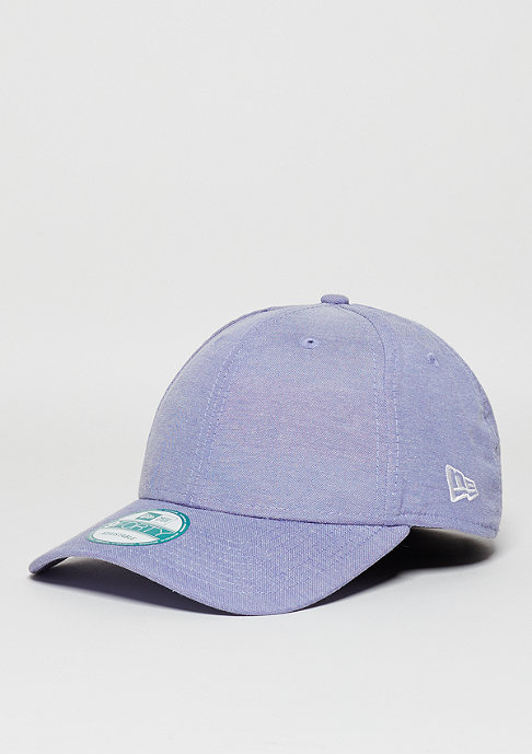 New Era Strapback-Cap 9Forty Oxford Lights open market blue