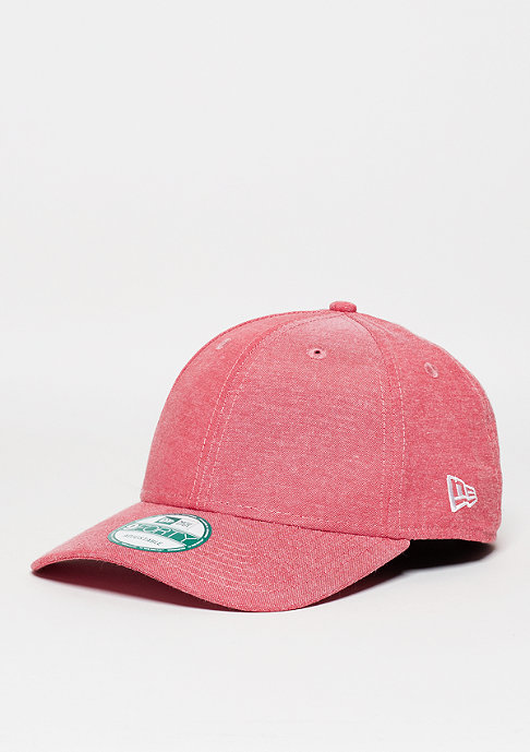 New Era Baseball-Cap 9Forty Oxford Lights scarlet