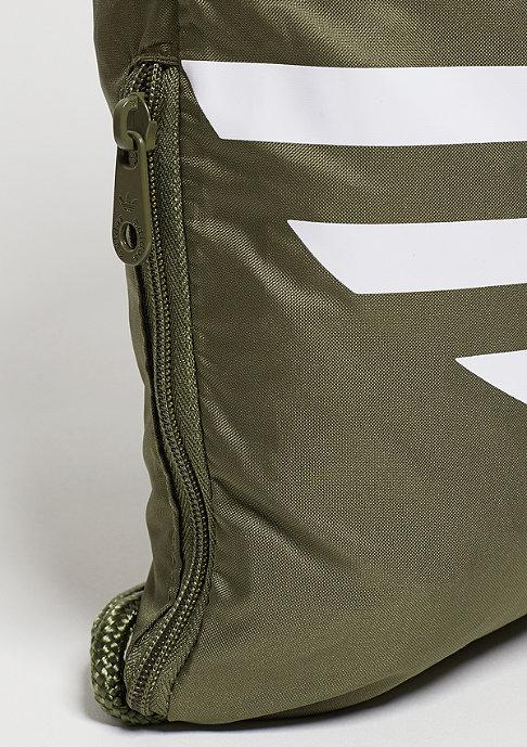 adidas Trefoil olive cargo/white