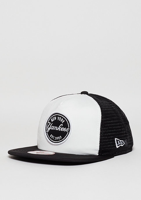 New Era 9Fifty Emblem MLB New York Yankees optic white/black