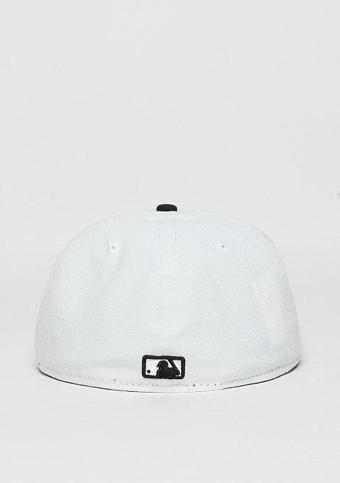 New Era 59Fifty Emblem Round Patch MLB New York Yankees optic white