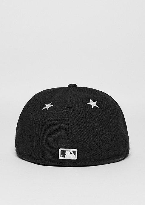 New Era 59Fifty Star Crown MLB New York Yankees black/optic white