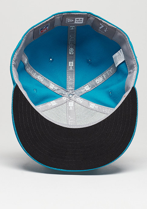 New Era Fitted-Cap 59Fifty Sideline NFL Carolina Panthers official