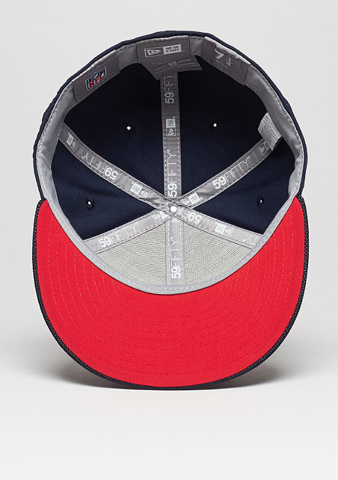New Era Fitted-Cap 59Fifty Sideline NFL New England Patriots official
