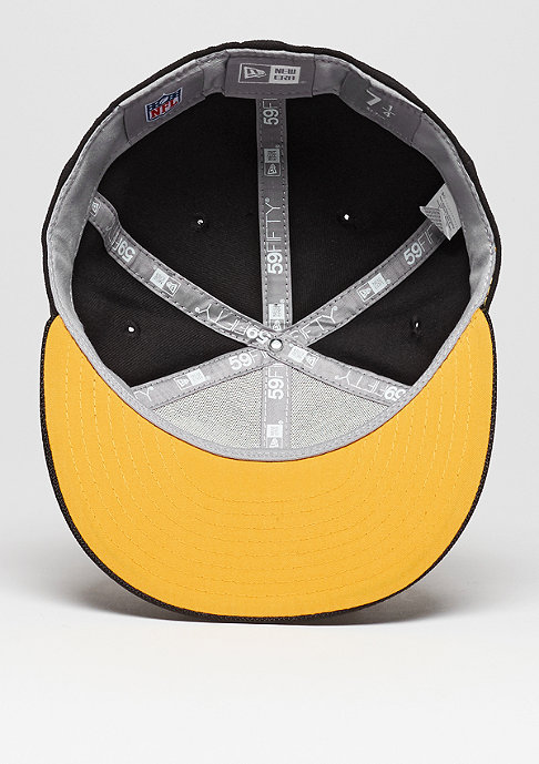 New Era Fitted-Cap 59Fifty Sideline NFL Pittsburgh Steelers official