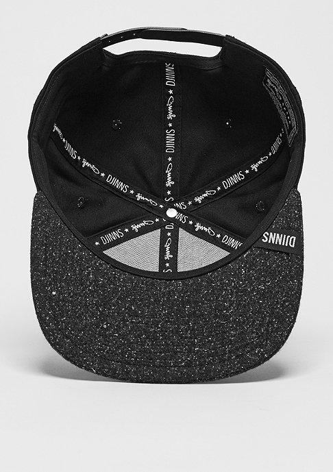 Djinn's Snapback-Cap 6P SB Squeeze II black