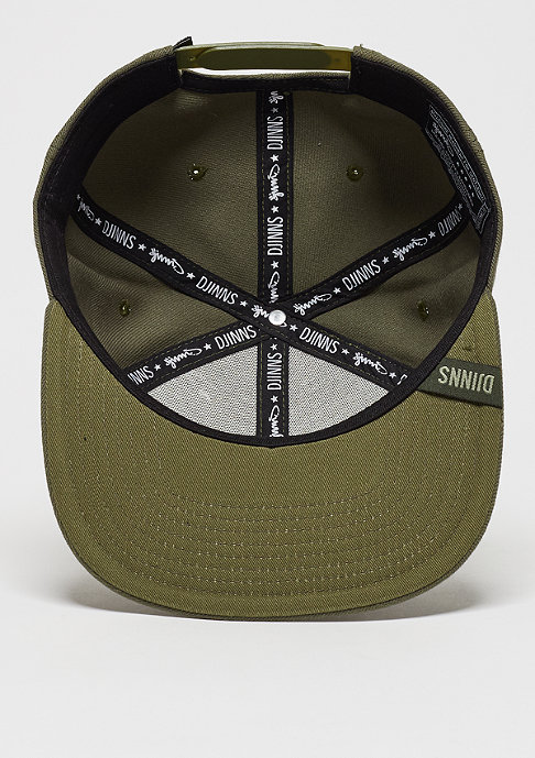 Djinn's Snpaback-Cap 6P SB Monochrome olive