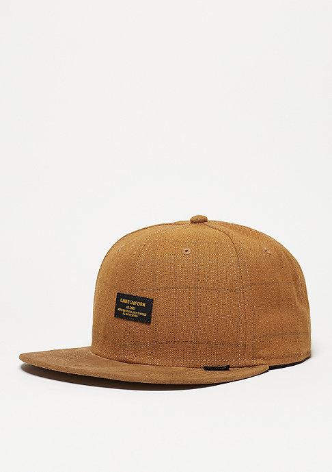 Djinn's Snapback-Cap 6P Sherlock wheat