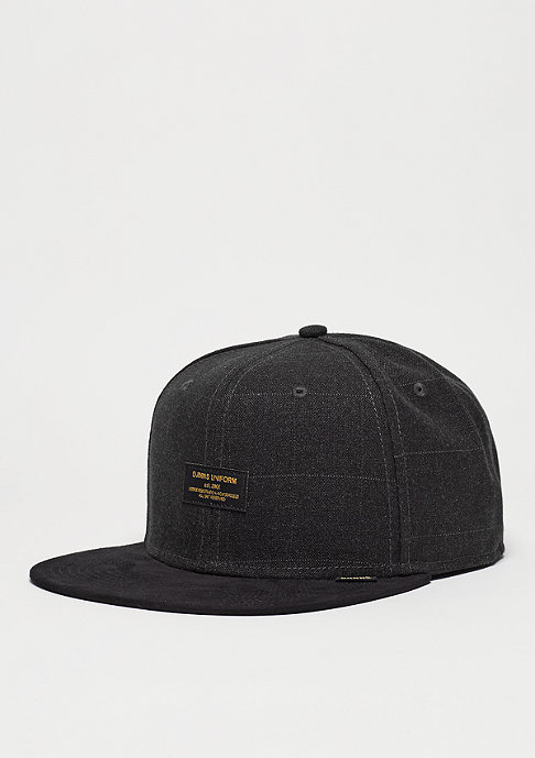 Djinn's Snapback-Cap 6P SB Sherlock black