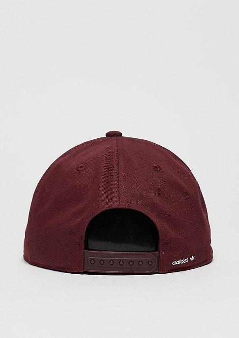 adidas Snapback collegiate burgundy/multicolor