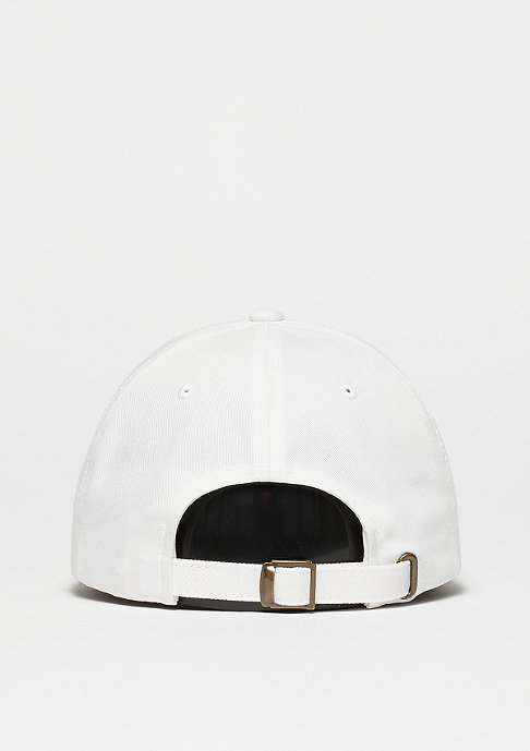 Flexfit Strapback-Cap Low Profile Cotton Twill white