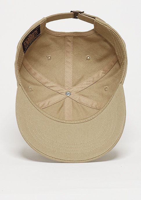 SNIPES Baseball-Cap Unstructured khaki/white
