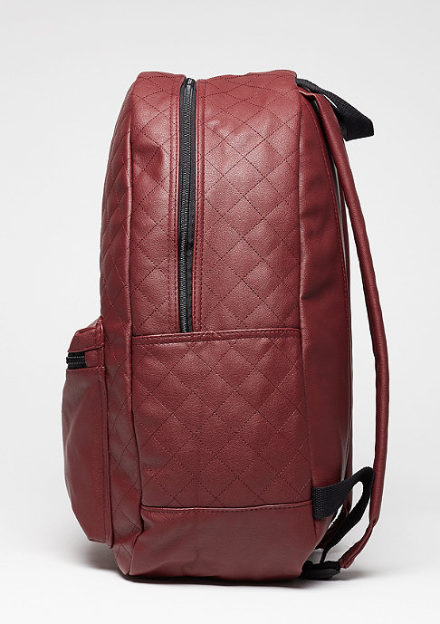 Urban Classics Diamond Quilt Leather Imitation burgundy