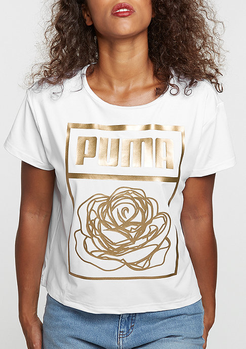 Puma T-Shirt Puma x Careaux Logo white