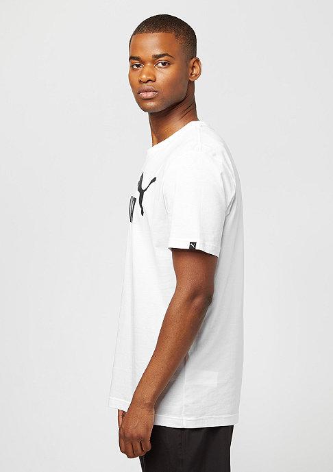 Puma T-Shirt ESS No. 1 Logo white