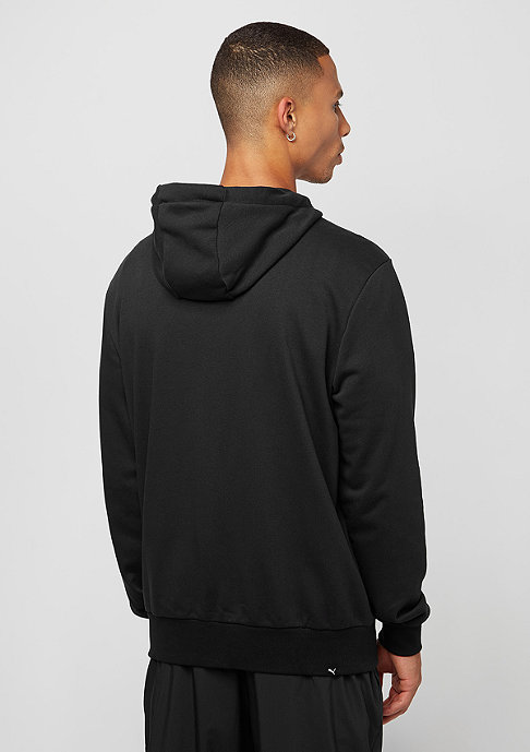 Puma Hooded-Sweatshirt ESS FZ cotton black