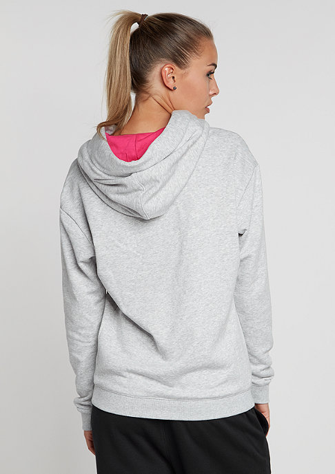 Puma Hooded-Sweatshirt light grey heather
