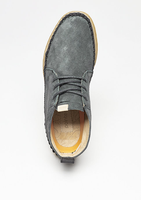 Pointer Schuh Karl jet black/phantom grey/crepe