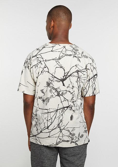 New Black T-Shirt Branch sand